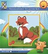 Smiling Fox - Grafitec Tapestry Kit