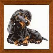 RIOLIS Dachshund Cross Stitch Kit