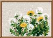 RIOLIS Dandelions Cross Stitch Kit