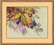 RIOLIS Blackberries Cross Stitch Kit