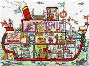Cut Thru' Cruise Ship - Bothy Threads Cross Stitch Kit