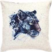 Panther Pillow - Luca-S Cross Stitch Kit