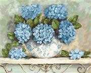 Luca-S Hydrangeas Cross Stitch Kit