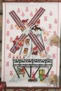 Permin Windmill Advent Christmas Cross Stitch Kit