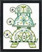 Turtle Pile - Design Works Crafts Embroidery Kit