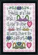 Support - Design Works Crafts Cross Stitch Kit