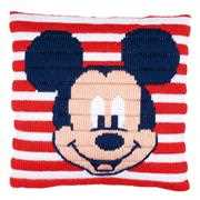 Mickey Mouse Cushion - Vervaco Long Stitch Kit
