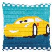 Disney Cars Cruz Cushion - Vervaco Long Stitch Kit