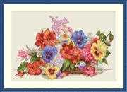 Garden Flowers - Merejka Cross Stitch Kit