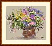 Merejka Wild Flowers Cross Stitch Kit