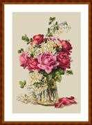 Roses - Merejka Cross Stitch Kit