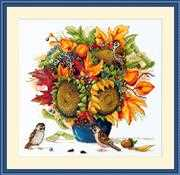 Merejka Sunflowers Cross Stitch Kit