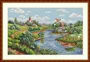 Spring View - Merejka Cross Stitch Kit