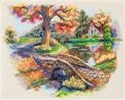 Merejka Autumn Landscape Cross Stitch Kit