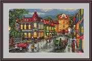The Old City - Merejka Cross Stitch Kit