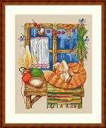 Merejka The Cat Cross Stitch Kit