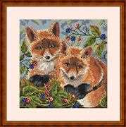 Merejka Foxes Cross Stitch Kit