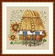 The House - Merejka Cross Stitch Kit
