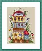 Merejka Summer House Cross Stitch Kit