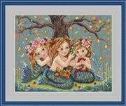 Mermaids - Merejka Cross Stitch Kit