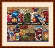 Merejka Pantry Treasures Cross Stitch Kit