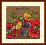 Summertime - Merejka Cross Stitch Kit