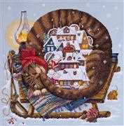 Cosy Winter - Merejka Cross Stitch Kit