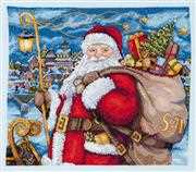 Merejka Santa is Coming! Christmas Cross Stitch Kit