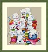 Merejka Little Helpers Cross Stitch Kit