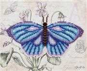 VDV Butterfly Blue Embroidery Kit