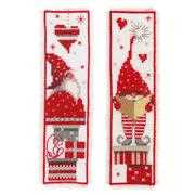 Christmas Gnome Bookmarks - Vervaco Cross Stitch Kit