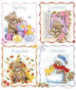 Vervaco Popcorn - Four Seasons Cross Stitch Kit