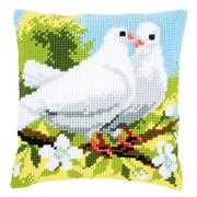 Vervaco Doves Cushion Cross Stitch Kit