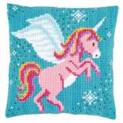 Unicorn Cushion - Vervaco Cross Stitch Kit