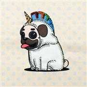 Pug in a Suit - VDV Embroidery Kit