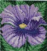 VDV Blue Poppy Embroidery Kit