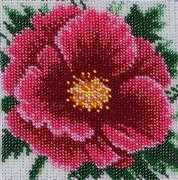 VDV Chinese Rose Embroidery Kit
