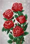 VDV Red Roses Embroidery Kit