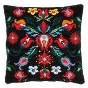 Folklore Cushion III - Vervaco Tapestry Kit