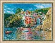 RIOLIS Liguria Cross Stitch Kit