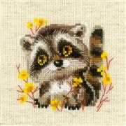 Little Racoon - RIOLIS Cross Stitch Kit