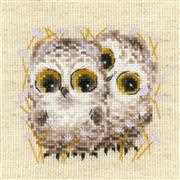 RIOLIS Little Owls Cross Stitch Kit