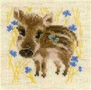 RIOLIS Little Boar Cross Stitch Kit