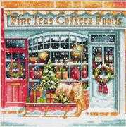 Coffee Shope - Dimensions Cross Stitch Kit