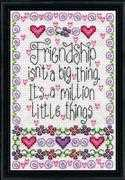Design Works Crafts Friendship Cross Stitch Kit