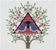 DMC Bird House Cross Stitch Kit