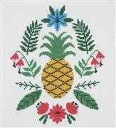 DMC Pineapple Cross Stitch Kit