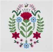 Poppy - DMC Cross Stitch Kit