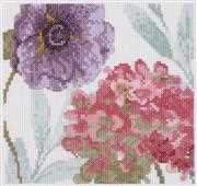DMC Rainbow Seeds Flowers V Cross Stitch Kit