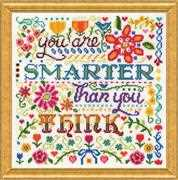 Smarter - Design Works Crafts Cross Stitch Kit
